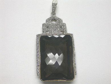 64477-64537/Art deco style pendant Cynthia Findlay Antiques CFA090235