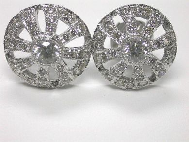 64477-64537/Diamond Stud Earrings Cynthia Findlay Antiques CFA090261
