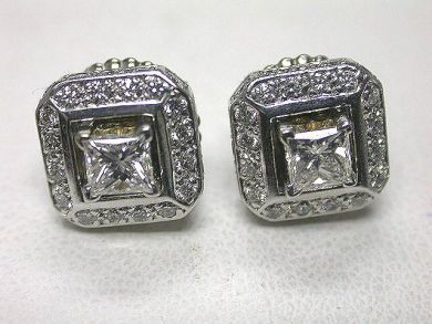 64477-64537/Modern Diamond Stud Earrings CFA090388 69818