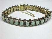 Antique Opal Bracelet