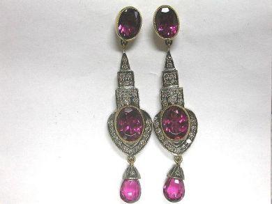 64754-64795/Pink tourmaline earringsCFA100146
