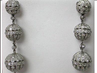 64847-64941/Diamond Lantern Drop Earrings CFA100919