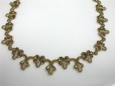 64847-64941/Stylized Acorn Necklace CFA100832