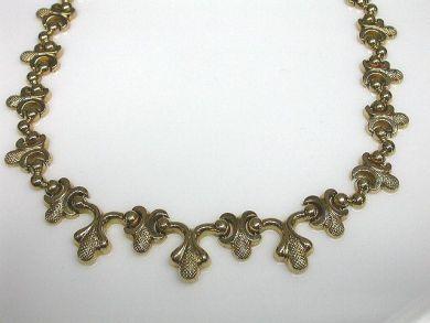 Stylized Acorn Necklace