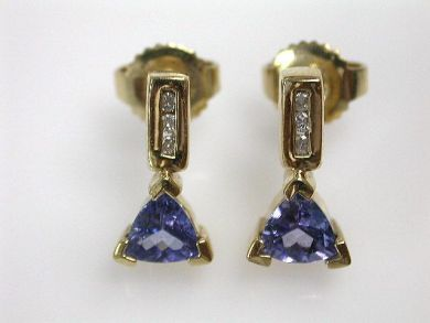 65168-November/Tanzanite Earrings Cynthia Findlay Antiques CFA1103214