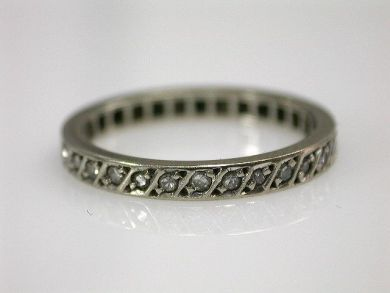 65437-65508/Floral Diamond Ring Cynthia Findlay Antiques CFA110649