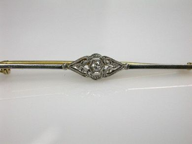 Antique Diamond Pin