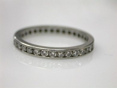 65510/Diamond Eterntiy Band Cynthia Findlay Antiques CFA110715