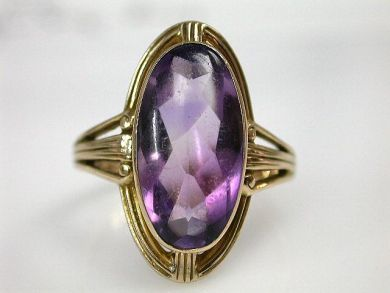 65510/Victorian Amethyst Ring Cynthia Findlay Antiques CFA110796
