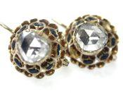 Diamond Filigree Earrings