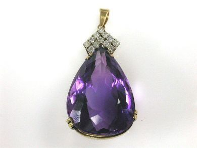 66027-December/Amethyst Pendant Cynthia Findlay Antiques CFA1111182
