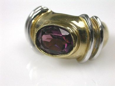 66027-December/Amethyst Solitaire Cynthia Findlay Antiques CFA1111209