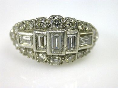 66027-December/Antique Diamond Ring Cynthia Findlay Antiques CFA1111139