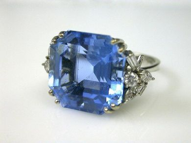 66027-December/Aquamarine Ring Cynthia Findlay Antiques CFA1111214