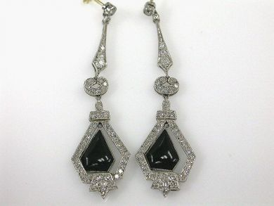 66027-December/Art Deco Earrings Cynthia Findlay Antiques CFA1111223