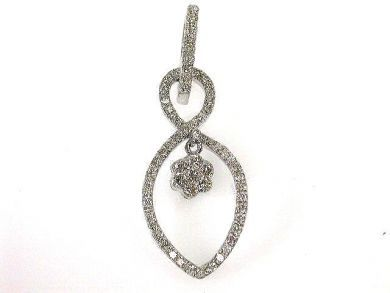 66027-December/Charming Diamond Pendant Cynthia Findlay Antiques CFA1111191