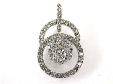 66027-December/Diamond Pendant Cynthia Findlay Antiques CFA1111190
