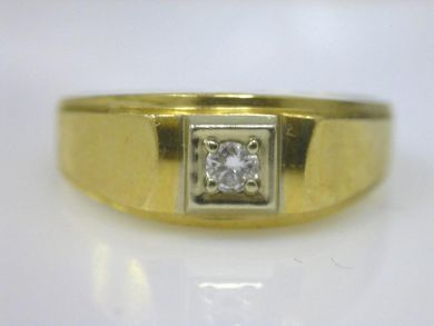 66068-November/Bold Diamond Solitaire Cynthia Findlay Antiques CFA111146