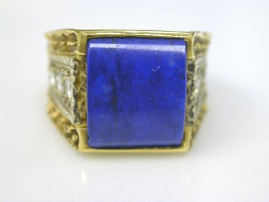 66068-November/Lapis Ring Cynthia Findlay Antiques CFA111141