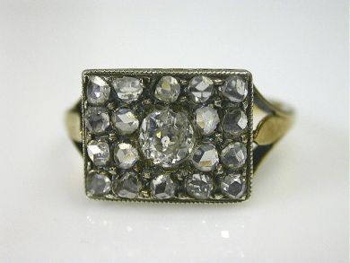 66068-November/Victorian Diamond Ring Cynthia Findlay Antiques CFA111199