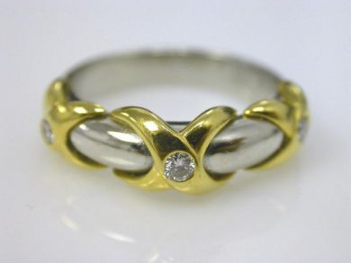 66068-November/XO Diamond Band Cynthia Findlay Antiques CFA111149