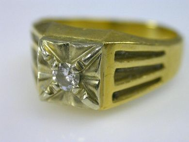 66068-November/Yellow Diamond Band Cynthia Findlay Antiques CFA111178