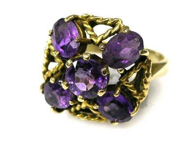 66338-December/Amethyst Cluster Cynthia Findlay Antiques CFA111215