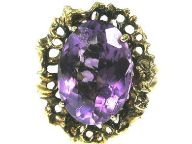 66338-December/Amethyst Ring Cynthia Findlay Antiques CFA111221