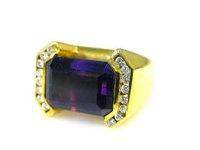 66338-December/Amethyst Ring Cynthia Findlay Antiques CFA111226