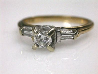 66338-December/Vintage Solitaire Ring Cynthia Findlay Antiques CFA111270