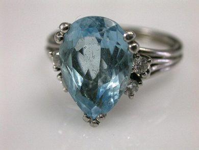 66395-January/Aquamarine Ring Cynthia Findlay Antiques CFA1112121
