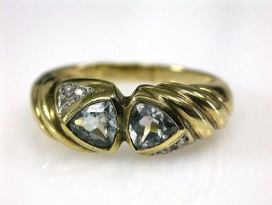 66395-January/Aquamarine Ring Cynthia Findlay Antiques CFA1112125