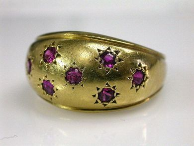 66395-January/Bombe Ring Cynthia Findlay Antiques CFA1112142