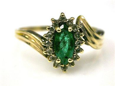 66395-January/Emerald Ring Cynthia Findlay Antiques CFA1112233
