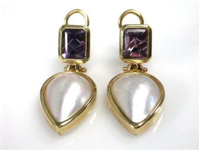 66395-January/Pearl Earrings Cynthia Findlay Antiques CFA1112127