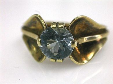 66395-January/Retro Aquamarine Ring Cynthia Findlay Antiques CFA1112122