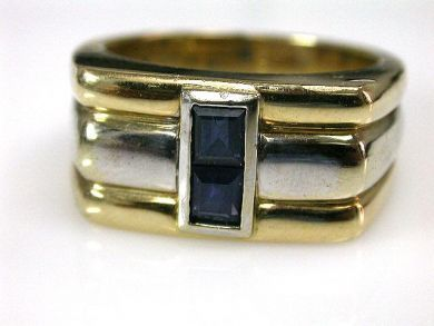 66395-January/Sapphire Ring Cynthia Findlay Antiques CFA1112187