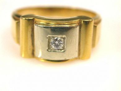 66711-January/Diamond Solitaire Cynthia Findlay Antiques CFA1112303