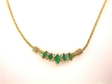 66711-January/Emerald Necklace Cynthia Findlay Antiques CFA1112341
