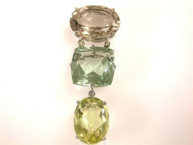 66711-January/Gemstone Pendant Cynthia Findlay Antiques CFA1112343