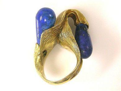 66711-January/Lapis Ring Cynthia Findlay Antiques CFA1112326