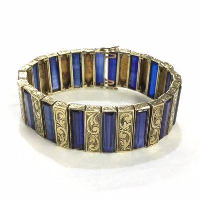 66849-January/Antique bracelet