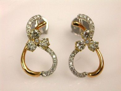 66849-January/Diamond Earrings Cynthia Findlay Antiques CFA120138