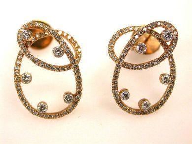 66849-January/Rose Gold Earrings Cynthia Findlay Antiques CFA120141