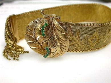 66849-January/Yellow Gold Bracelet Cynthia Findlay Antiques CFA1112167