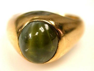 66891-February/Chrysoberyl Ring Cynthia Findlay Antiques CFA1201123