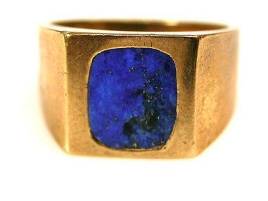 66891-February/Lapis Ring Cynthia Findlay Antiques CFA1201102