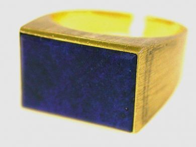 66891-February/Lapis Ring Cynthia Findlay Antiques CFA1201110
