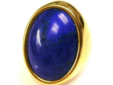 66891-February/Lapis Ring Cynthia Findlay Antiques CFA1201113