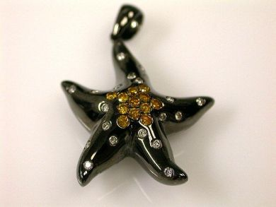 66891-February/Starfish Pendant Cynthia Findlay Antiques CFA1201136